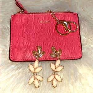 Forever 21 pink/light pink earrings